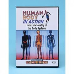 DVD: teaches students that the human body is really one large system comprised of many smaller systems. Made up of cells, tissues and organs, each body system has its own specialized job. However, each system must still interact with the others to get its job done. Structure And Function, Body Systems, Human Body, Real Life, Students, How To Get, Colorful, Graphics, Teaching