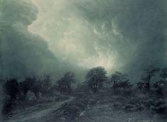 Léonard Misonne. Landscape.