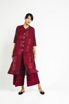 Baju Panjang Ombak Laut Merah - Sejauh