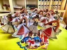 Картинки по запросу arta decorativa populara in gradinita cu desene Easy Crafts, Diy And Crafts, Crafts For Kids, 1 Decembrie, Romania, Preschool, Traditional, Red Shoes, Europe