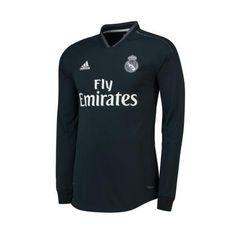 fce1127d5b7e Real Madrid Long Sleeve Away Soccer Jersey Shirt Jerseys
