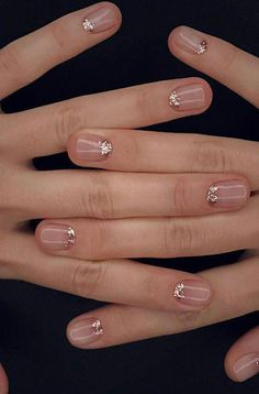 Cute Spring Nail Designs Ideas 2018 - Hand Nail Design FoR Women Cute Spring Nails, Summer Nails, Cute Nails, Pretty Nails, Nail Designs Spring, Simple Nail Designs, French Nails, Hair And Nails, My Nails