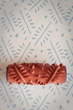 No. 4 Patterned Paint Roller from The Painted House. Etsy.