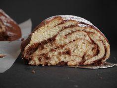 Hefe-Kranz mit Schokladenfüllung, ein einfaches Rezept perfekt für Ostern