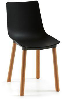 Khobi stoel - LaForma - zwart