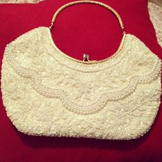 My favorite vintage evening bag. #janphotoaday by theoriginalmooninmygarden, via Flickr