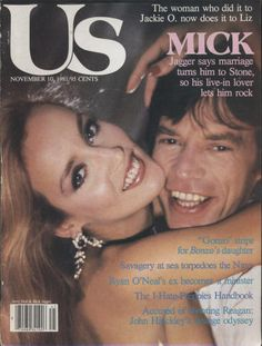 Huge collection of vintage, old, collectible, rage magazines spanning over 100 years with thousands of titles. Featuring Mick Jagger. List Of Magazines, Vintage Magazines, Ryan O'neal, Jerry Hall, Stone World, Mick Jagger, Rolling Stones, Cover Photos, Rage