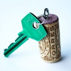 No more worries about dropping your boat key in the ocean, with a cork attached it'll float!