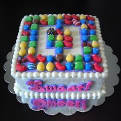 Candy Crush Cake made by Eat Cakes http://www.facebook.com/eatcakesiowa