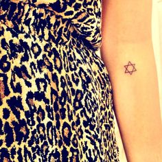 My star of David tattoo