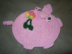 Pig potholder that I made
