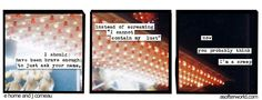 I can contain it, if I have to. - e horne and j comeau a softer world