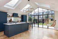 scaf website pins Victorian Terrace House, Herringbone Wood Floor, Open Plan Kitchen Living Room, Kitchen Cabinet Remodel, Kitchen Cabinets, Luxury Kitchen Design, Floor Layout, Modern Bedroom Design, Home Additions