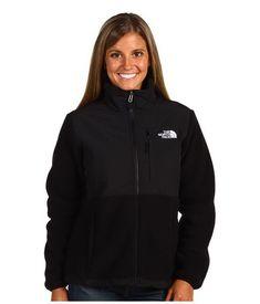 Womens The North Face Denali Fleece Jacket Black - Click Image to Close