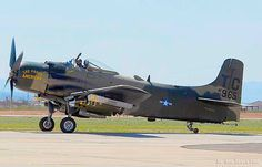 "Douglas A-1D Skyraider The Proud American""."