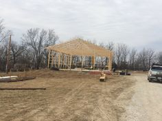 Starting construction of winery, March 2018. Construction by NeMark Builders.