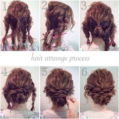 11 Cute Updos For Curly Hair 2018 Updo Pinterest Hair Styles