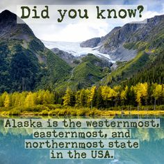 #visitalaska, #discoveralaska, #travelamerica Alaska Travel, Alaska Cruise, Visit Alaska, Fun Fact Friday, Did You Know, Fun Facts, Places To Go, Things To Do, United States