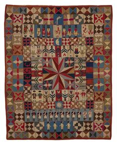 A stitch in wartime - The Magazine Antiques Old Quilts, Antique Quilts, Star Quilts, Vintage Quilts Patterns, Quilt Patterns, Quilting Ideas, Sampler Quilts, Studios, Textile Artists