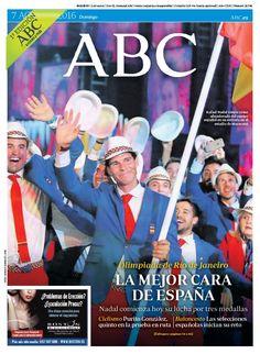 La Portada de ABC del domingo 7 de agosto