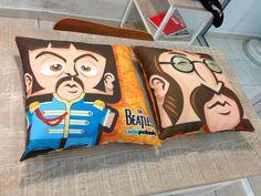 Cojines Beatles