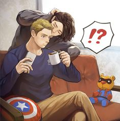 """""""Bucky! Don't sneak on me like this!"""""""