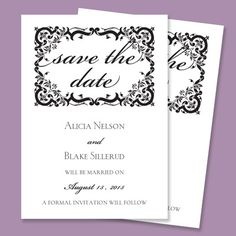 Save the Date Card http://foreverfriends.mcphersonsprint.com/