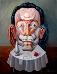 35 Mind-Blowing Illusion Paintings by Oleg Shuplyak - Find Hidden Figures Optical Illusion Paintings, Amazing Optical Illusions, Best Illusions, Illusion Kunst, Illusion Art, Salvador Dali, Oleg Shuplyak, Funny Illusions, Illusion Pictures