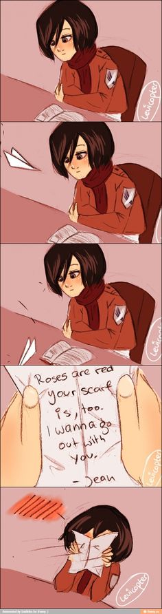 HATE the ship, but this is cute <3