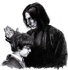 Severus Snape by Smeha.deviantart.com on @deviantART
