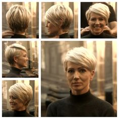 I save that for the next summer ! I love a lot - New Hair Styles Sweet Hairstyles, Summer Hairstyles, Cute Hairstyles, Short Hair Cuts For Women, Short Hairstyles For Women, Short Hair Styles, Hairstyle Short, Short Pixie Haircuts, Great Hair