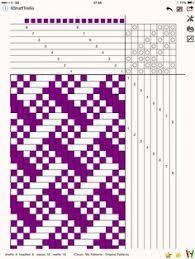 Resultado de imagem para 1000 (+) Patronen in 6 en 8 Harness Shadow Weave Macrame Patterns, Weaving Patterns, Stitch Patterns, Knitting Patterns, Inkle Loom, Loom Weaving, Hand Weaving, Weaving Techniques, Embroidery Techniques