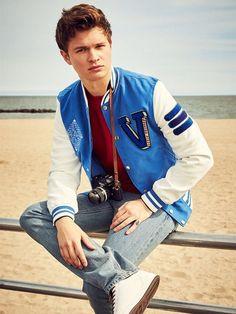 Baby Driver Ansel Elgort Stylish Jacket | Top Celebs Jackets