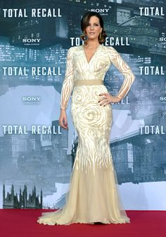 "Kate Beckinsale in Naeem Khan at ""Total Recall"" Premiere, Berlin, 2012"