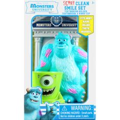 Disney Pixar Monsters University Scary Clean Smile Set, 3 pc: Bath & Body : Walmart.com