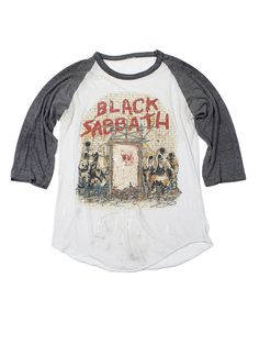 Black Sabbath Mob Rules Tour Vintage T-Shirt 1981