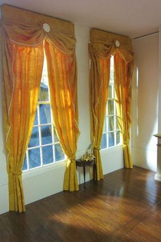 Dollhouse curtains tutorial