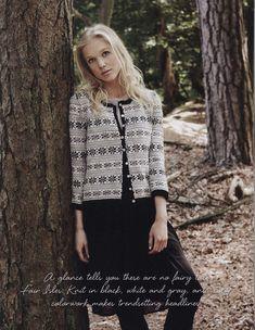 "Photo from album ""Debbie Bliss Knitting Magazine Fall Winter - on Yandex. Punto Fair Isle, Knitting Blocking, Knitting Magazine, Knit Fashion, Knitting Projects, Knitting Patterns, Free Knitting, Lana, Bliss"
