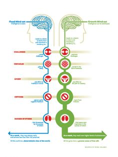 Personal Development by Carol Dweck: The Groth and the fix Mindset