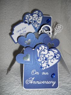 35 best anniversary cards images on pinterest handmade cards