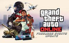 Comme ils l'ont annoncé vendredi dernier, Rockstar Games annonce que les événements en Mode Libre de GTA Online sont maintenant disponibles après une mise à jour de Grand Theft Auto V sur Playstation 4, Xbox One et Pc. En plus de proposer le fameux mode vidéo, cette update propose plein de nouvelles chose que vous pourrez retrouver ci-dessous.