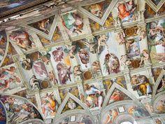 Michaelangelo's Sistine Chapel ceiling