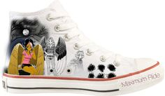 """""""Maximum Ride Converse"""" by who-i-am ❤ liked on Polyvore  i need one pair."""