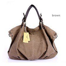 Soft Canvas Handbag/ Shoulder Bag