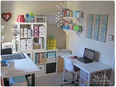 Awesome craft room