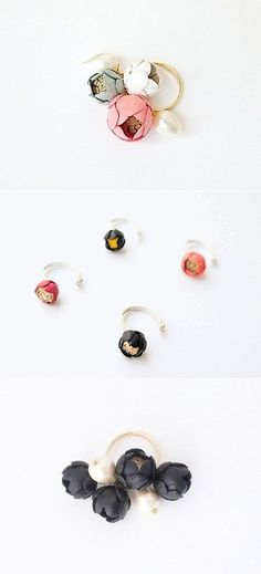 TheCarrotbox.com modern jewellery blog : obsessed with rings // feed your fingers!: Selieu / HandmadeHome / Lindsay Taylor
