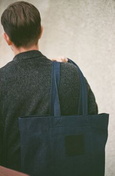 Label Bag Denim