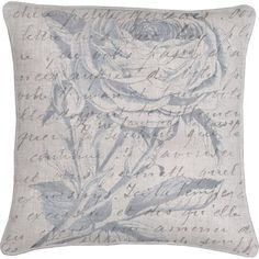 "Elisabet Pillow from the Scandinavian Elements event at Joss and Main! $60.  20""x20"", 100% linen, insert included."