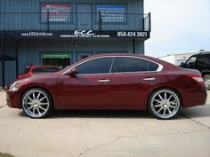 "Nissan Maxima w/ 22"" Lexani Wheels & Tires"