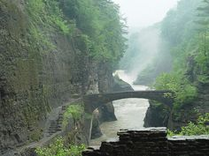 Letchworth State Park near Geneseo, NY  why didn't anyone tell this place existed when I lived there for a year???